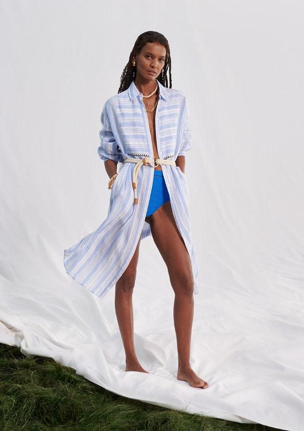 Liya in lemlem per H&M